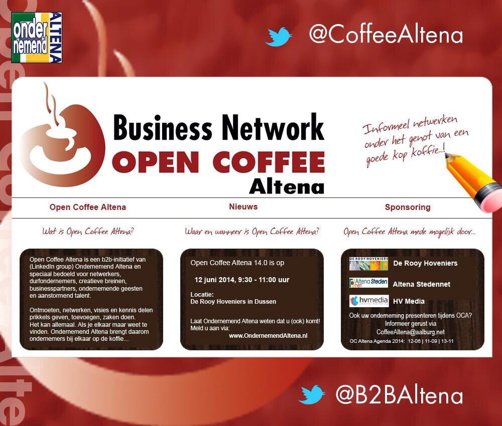 Open coffee 2014
