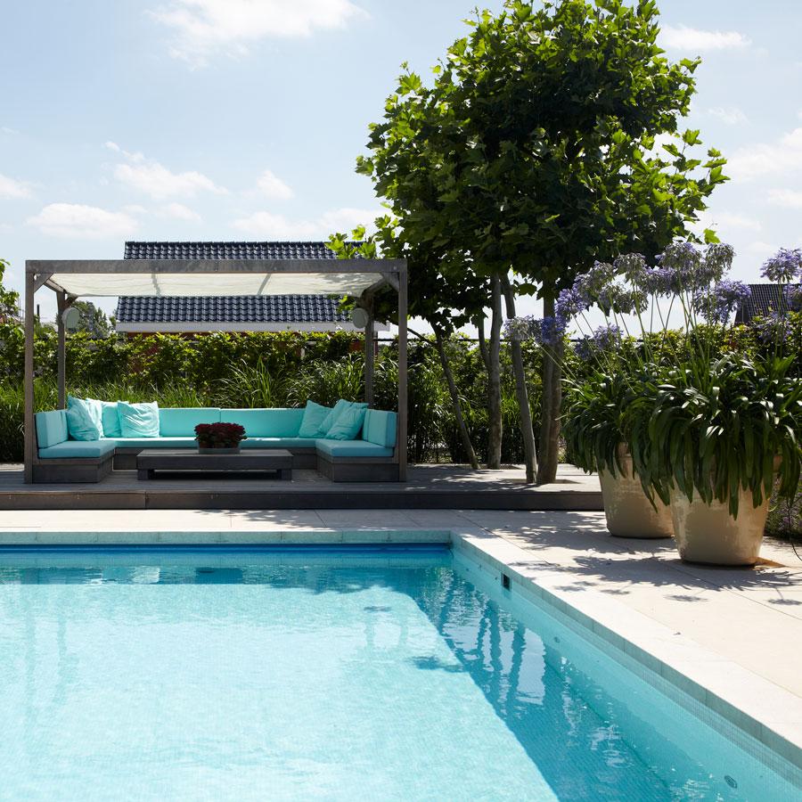 Zwemmen in eigen tuin de rooy hoveniers for Eigen zwembad in de tuin