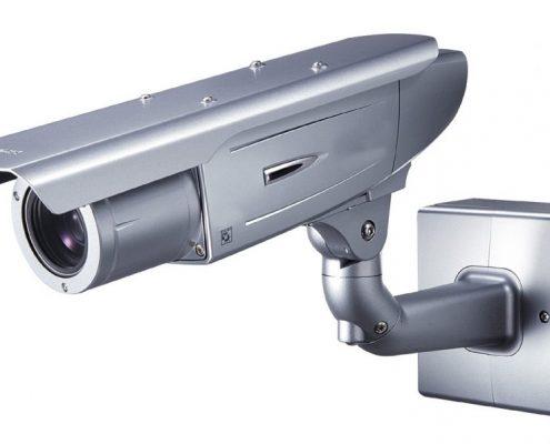 bewakingscamera in de tuin