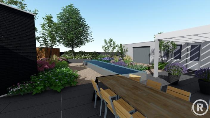 3d aanzicht Made tuinontwerp